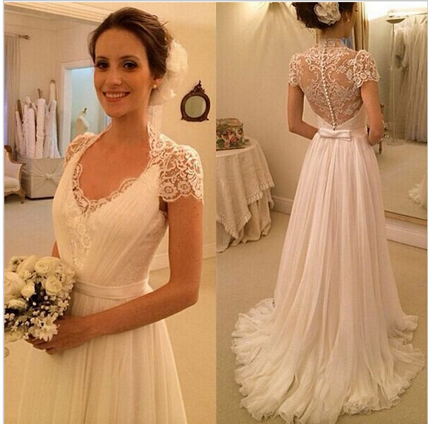Long Sleeve Lace Mermaid Wedding Gown Off Shoulder Bridal Beading Dress