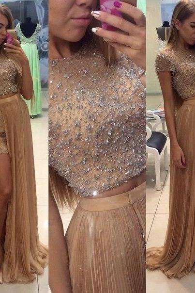 New Arrival 2016 Customize Beading Chiffon Prom Dress Sleeveless Evening dress Formal Dresses Evening Gown Long Party dressCharming Prom Dress,Beading Prom Dress,Chiffon Prom Dress,Halter Evening Dress,Prom Dresses 2017,Modesr Evening Dresses,Beauty Party Dresses